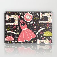 Vintage Sewing Laptop & iPad Skin
