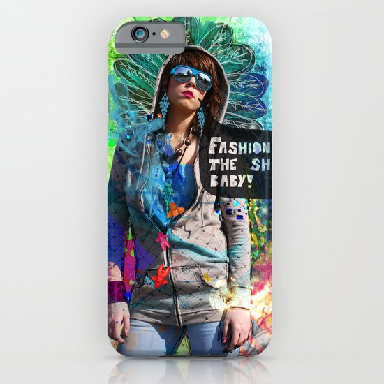 Fashion victim iPhone & iPod Case