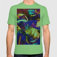 Interlock Mens Fitted Tee Grass SMALL