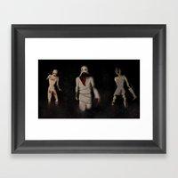 Terrifying Trio Framed Art Print