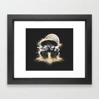 Spring Of Life Framed Art Print