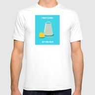 I Know It's Cheesy... Mens Fitted Tee White SMALL