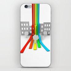 Spectrum in Town iPhone & iPod Skin