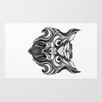 Owl - Drawing Rug
