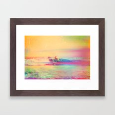 Chillin' Framed Art Print