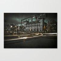 IR Storm Canvas Print