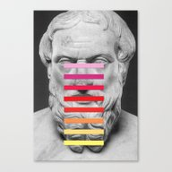 Sculpture With A Spectru… Canvas Print