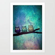 owl-104 Art Print