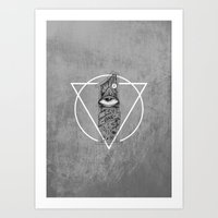 One Eyed Art Print