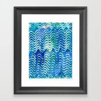 Rippling Waves Framed Art Print