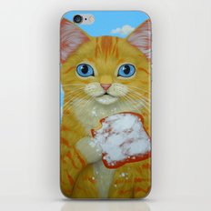 YELLOW TABBY AND BEIGNET iPhone & iPod Skin