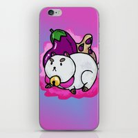 A Chubby Puppycat iPhone & iPod Skin