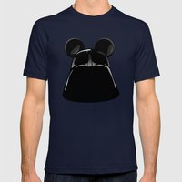 Darth Mickey  Mens Fitted Tee Navy SMALL