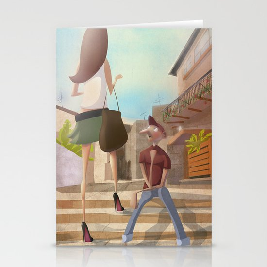That Girl from Ipanema Stationery Card