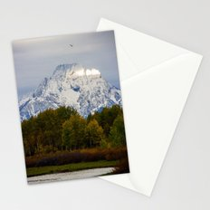 Morning in the Tetons Stationery Cards