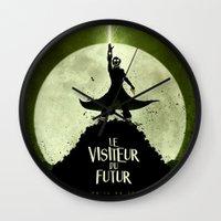 LE VISITEUR DU FUTUR - N… Wall Clock