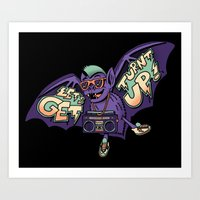 Party Bat Art Print