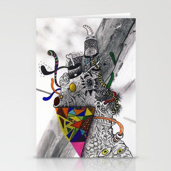 Psychoactive Bear 7 Stationery Card