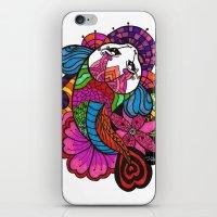Koi Zentangle iPhone & iPod Skin
