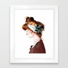 Red Head Framed Art Print