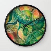 Starfish Dance Wall Clock