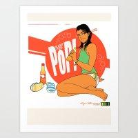 Fizzy Pop 02 Art Print