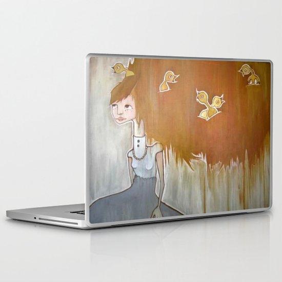 feather brain Laptop & iPad Skin