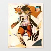 Runnin Canvas Print