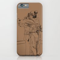 iPhone & iPod Case featuring After the Match by Karen Herman Jacquez