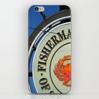 Fisherman's Wharf iPhone & iPod Skin