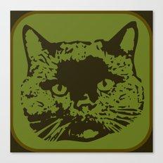 cathead 2 Canvas Print