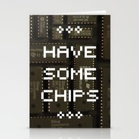 Have some chips Stationery Cards