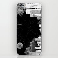The City At Night.. iPhone & iPod Skin