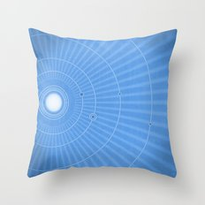 Solar System Cool Throw Pillow