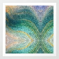 The Mermaid's Tail Art Print