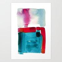 Her Abode Art Print