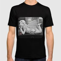 Daydreamer Mens Fitted Tee Black SMALL