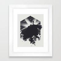 The Cosmic Gate Framed Art Print