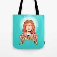 St. Leeloo of the Big Bada Boom Tote Bag