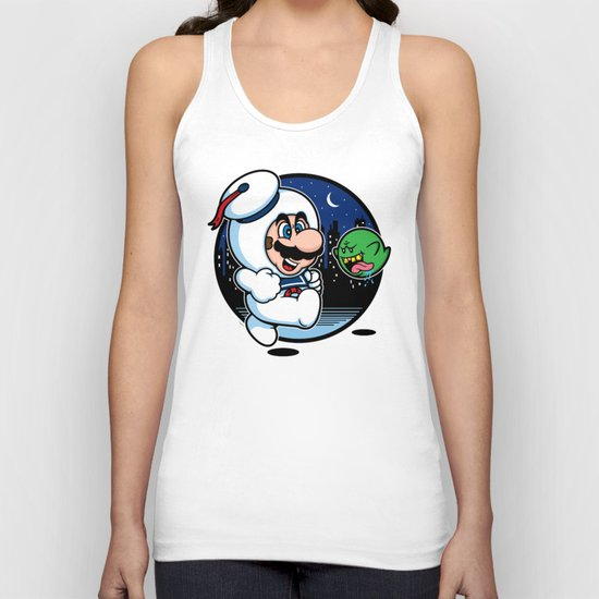 Super Marshmallow Bros. Unisex Tank Top