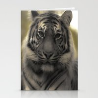 Golden Tiger 1 Stationery Cards