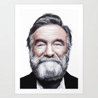 A Tribute To Robin Willi… Art Print
