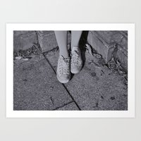 Little Feats Art Print
