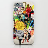 iPhone & iPod Case featuring Back In The Day by Nick Cocozza