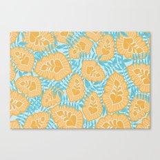 Sunny Tropics 2 Canvas Print