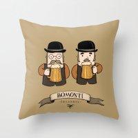 Bomonti, Istanbul Throw Pillow