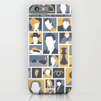 iPhone & iPod Case featuring Twin Peaks by Bill Pyle