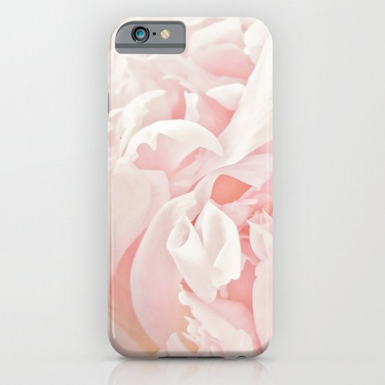 Peony Heart iPhone & iPod Case
