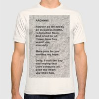 ARGHHH! Mens Fitted Tee Natural SMALL