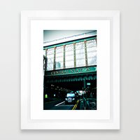 Central Station Framed Art Print